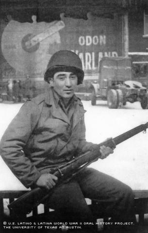 Portrait of Ceprian Armijo.
