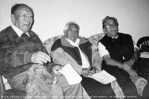 Genaro Cortes (left),Liborio Santiago (middle), Juan Saldana (right).