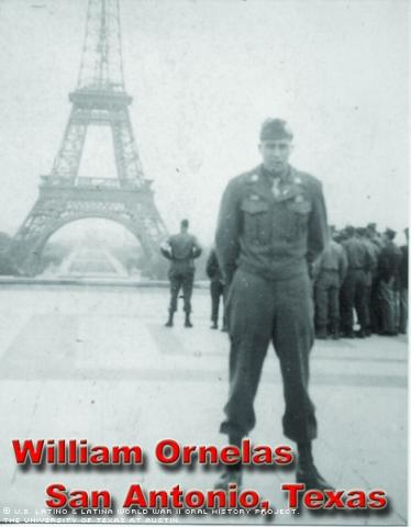 William R. Ornelas in Paris, France.