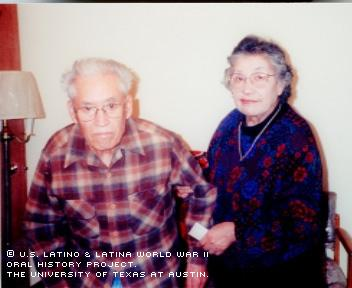 Portrait of Mary and Francisco Resendez (husband).