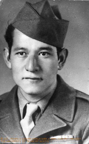 Portrait of Enrique Saenz.