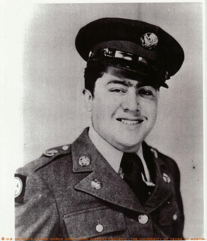 Portrait of Eriberto G. Rodriguez who served with the 349th Regiment of the 88th Division in Italy.