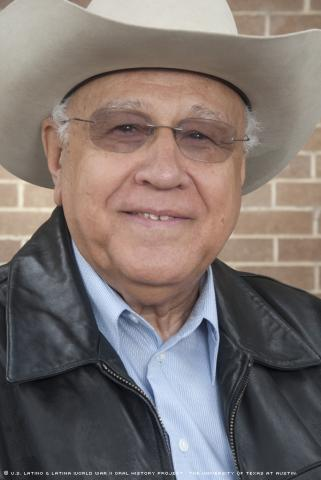 Mercurio Martinez was interviewed on March 6, 2010 at the Laredo Community College library in Laredo, Texas.