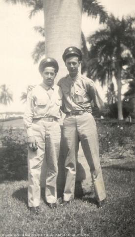 John Hernandez (left)
