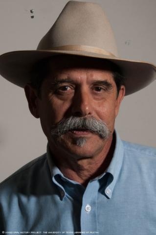 Vietnam Vet, Eduardo Garza, was interviewed in San Antonio, Texas, on April 20, 2011. [Voces Oral History Project/Michelle J Lojewski]