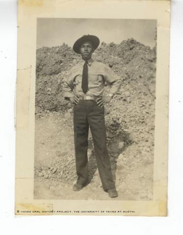 Juan L. Martinez, circa 1942-43. Alaska.
