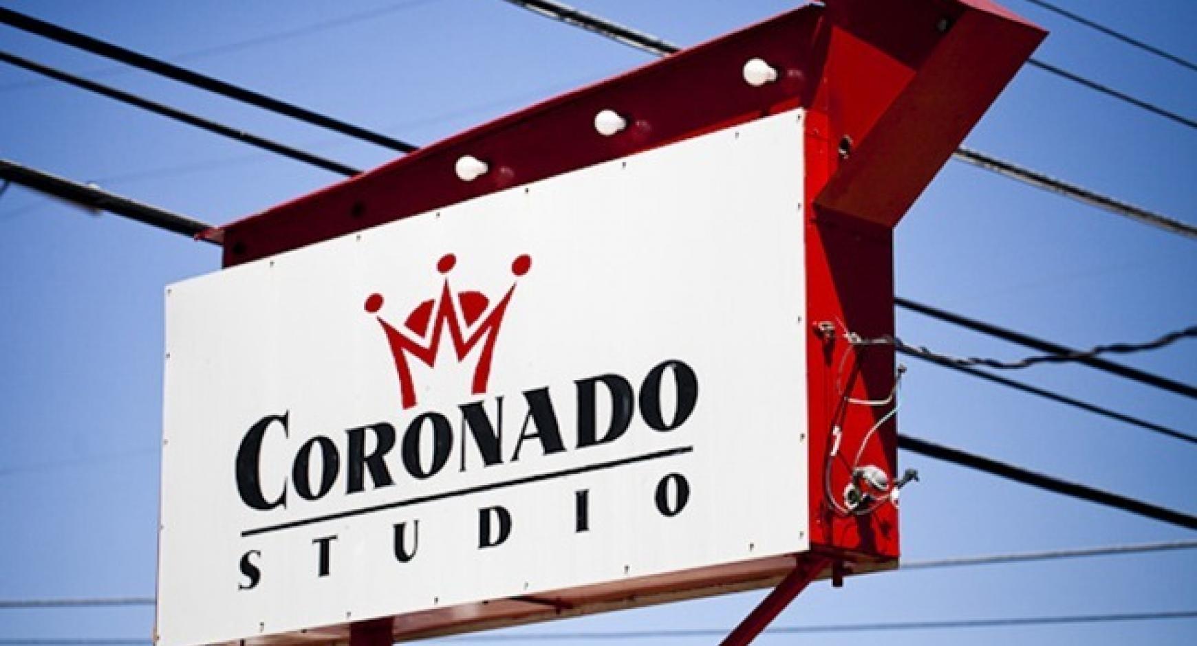 Coronado Studio Sign