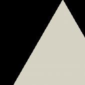 Grey triangle, no text. Decorative.