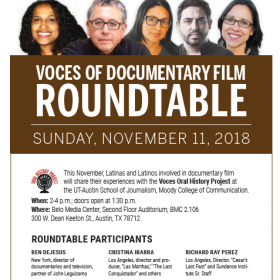 Voces of Documentary Film Roundtable