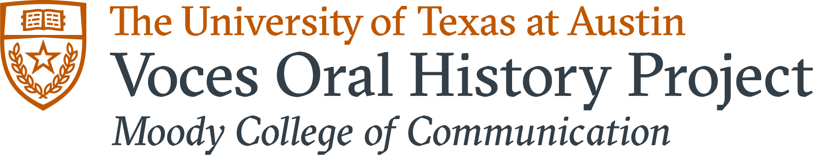 VOCES Oral History Center logo